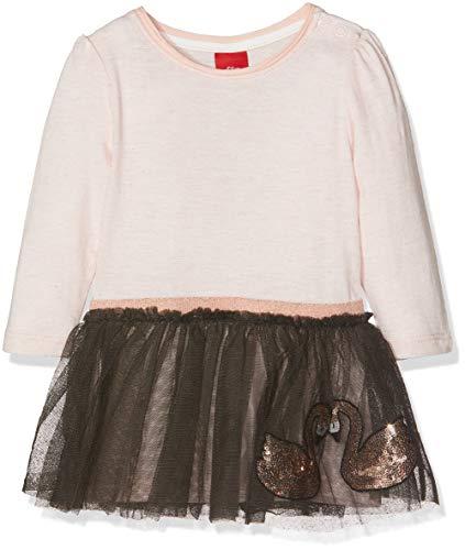 s.Oliver Junior Baby-Mädchen 65.810.82.2904 Kleid, Pink Melange 40w6, 86