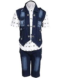 AJ DEZINES Boy's Cotton Outfits & Clothing Set (684-$P)