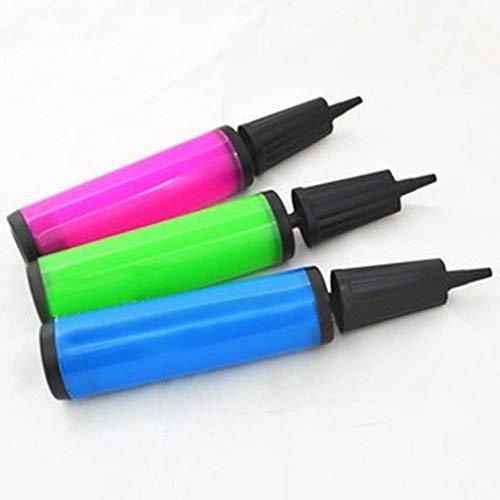 tinxi® 1x Pumpe für Luftpolsterfolie Luftballons Luftmatratze Ballonpumpe Luftpumpe Handpumpe Coll zufällige Farbe gute Qualität