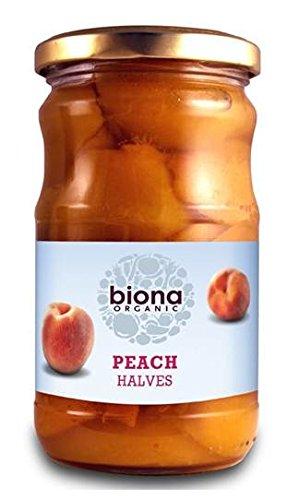 Biona Organic - Jarred Fruit - Peach Halves - 350g