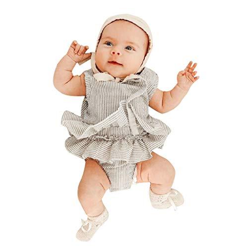 Kostüm Bett 3 Einfache - WFRAU Baby Strampler Mädchen Langarm/ärmellos Rein Farbe Heiß Liebenswert Overalls Jumpsuit Schlafanzug Säugling Spielanzug Baby-Nachtwäsche Hosen Tops Jumpsuits Outfit Bodysuit Schläfer