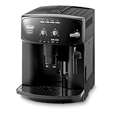 De Longhi ESAM2600 Caffe Corso Bean to Cup Espresso Cappuccino Coffee Machine Black from De Longhi