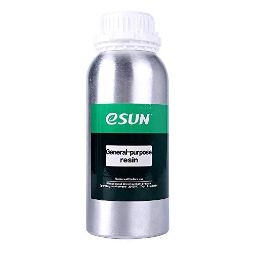 eSUN Rapid LCD UV 405nm Resina Resina universal de alta precisión para todas las impresoras 3D LCD/DLP / SLA Multicolor disponible (500 ml) (transparente)