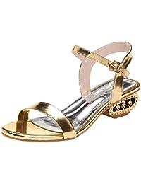 Lolittas Women Ladies Sandals Summer Sliver Gold Sandals f558c480616
