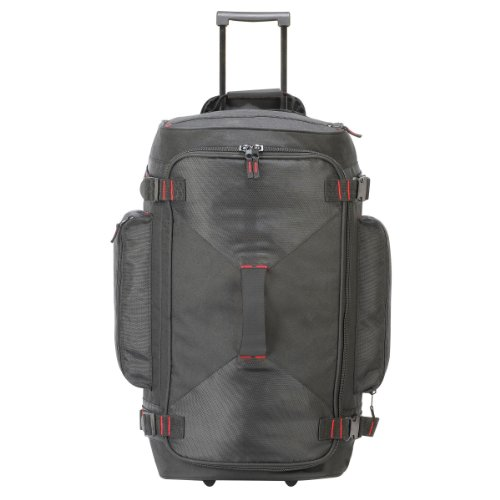 Shugon Paris - Sac de voyage à roulettes (78 litres) (Taille unique) (Noir)