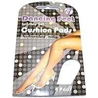 W7 Dancing Feet Invisible Soft Gel Cushion Pads 4 Pads by W7 preisvergleich bei billige-tabletten.eu