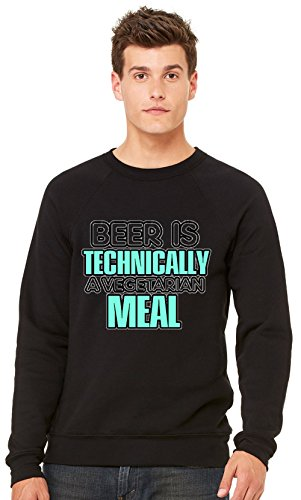 beer-is-technically-a-vegertarian-meal-t-shirt-unisex-crewneck-sweatshirt-xx-large