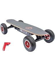 Evo Spirit SKA063 Skateboard Électrique Mixte Adulte, Noir