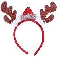 HEALIFTY Bandas de astas Fiesta de Navidad Vestido de lujo Accesorio de novedad para adultos Fiesta de Navidad para niños Accesorios de vestuario Accesorios para el cabello