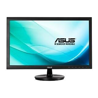Asus VS247NR 59,9 cm (23,6 Zoll) Monitor (Full HD, VGA, DVI, 5ms Reaktionszeit) schwarz