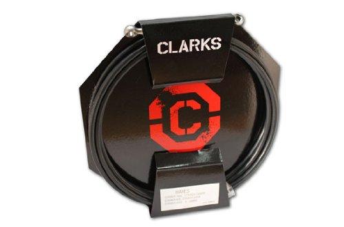 Clarks Shimano Kabel für Hydraulikbremsen, vorne und hinten, XTR, LX, XT, SLX schwarz schwarz