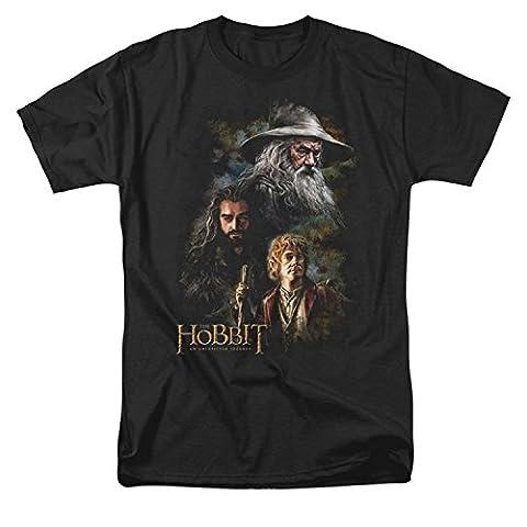 Hobbit Men's Trio Painting T Shirt