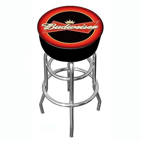 Budweiser Tabouret de bar pivotant rembourré