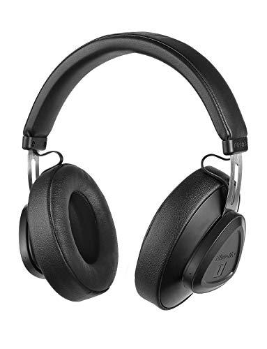 Bluedio TM Bluetooth 5.0 On-Ear-Kopfhörer Sprachsteuerung Stereo-Kopfhörer für Musik und Anrufe, eingebautes Mikrofon (Schwarz) -