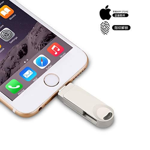 USB 3.0 Flash-Laufwerk, Pen-Drive Speicher, JumpDrive Memory Stick Externer Speicher Erweiterung kompatibel mit iPhone Android Handys, iPad, iPod, Mac und PC, Y29 Silber 256 GB - Usb Pen Drive Treiber