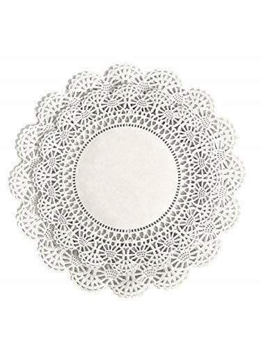 The Baker Celebrations runden Papier Spitze Tabelle Deckchen Verschiedene Größen; Dekorative Geschirr Papiere Tischset, Schönes Sortiment 60 8