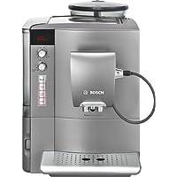 Bosch TES50651DE Kaffee-Vollautomat VeroCafe LattePro (1.7 l, 15 bar, externes Milchsystem) hell-anthrazit
