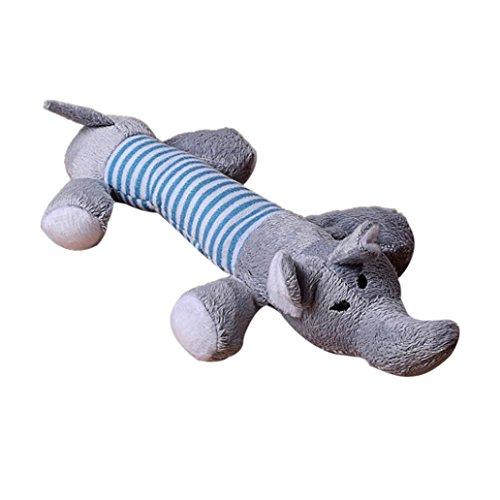 Kostüm Pet Ente - Hund kauen Spielzeug Pet Puppy quietschelement Plüsch Sound Pig Elefant Ente Ball