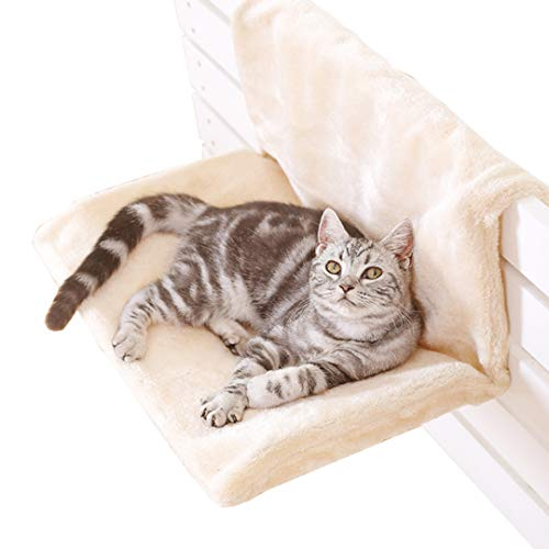 Authda Detachable Bed Radiator for Pets Cats Dogs Hammocks Radiators and Cradle for Small Pets