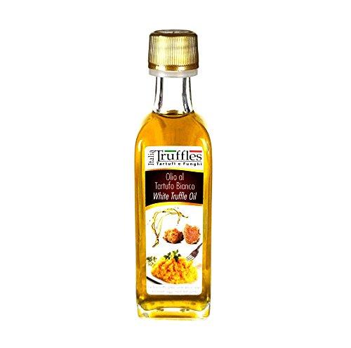 Olio extra vergine d' oliva italiano al tartufo bianco