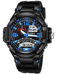 longqi reloj militar deporte multifuncional luminoso calendario cronómetro Digital pantalla reloj para hombre