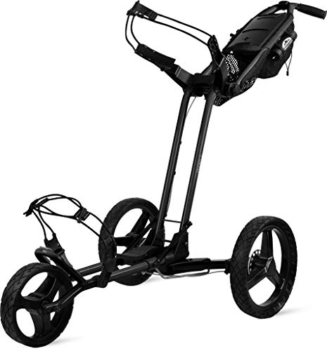 Sun Mountain Golf 2019 Pathfinder 3 Push Cart Black (Black,) - Cart Golf Mountain Push Von Sun