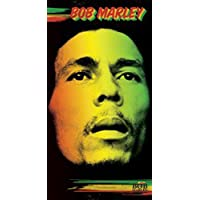 1art1® Set: Bob Marley, Rasta Colours Vinilo Decorativo Pegatina Autoadhesivo (9x9 cm) Y 1x Pegatina Sorpresa
