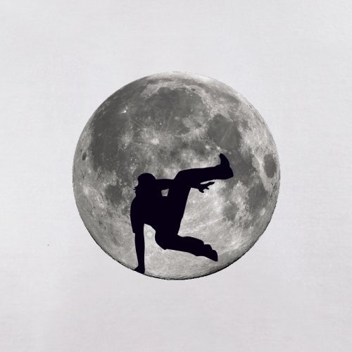 Free Running Moon - Herren T-Shirt - 13 Farben Weiß