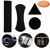 Nakeey 4 Stück Gel Anti-Rutsch-Pads Armaturenbrett Antirutschmatte Auto, Handy Ständer Antirutschmatte KFZ Halterung Sticky Anti-Slip Klebepad für Smartphones