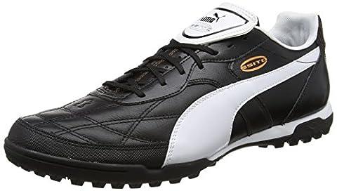 Puma Esito Classico TT, Herren Fußballschuhe, Schwarz (black-white-bronze 01), 47 EU (12 Herren UK)