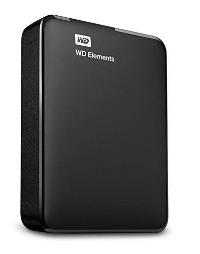 WD Elements - Disco duro externo portátil de 2 TB (USB 3.0), color negro