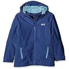 Jack Wolfskin Kid's Grivla Hardshell Jacket, Active Blue, Size 116