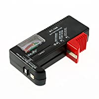 Andoer New AA/AAA/C/D/9V/1.5V Universal Button Cell Battery Volt Tester Checker