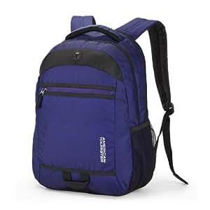 American Tourister Buzz Nylon Blue Laptop Backpack