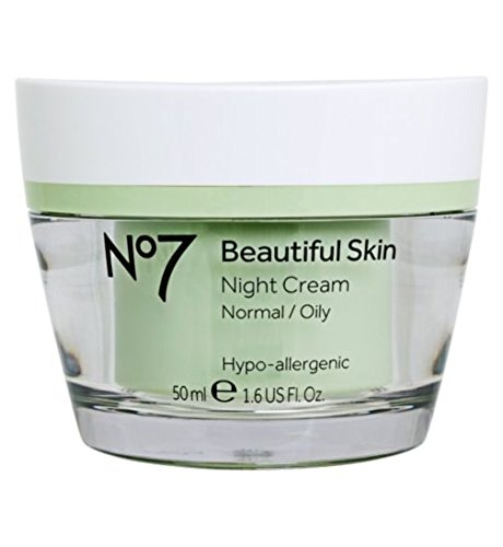 Boots No7 Beautiful Skin Night Cream - Normal / Oily 1.6 oz. by Boots -
