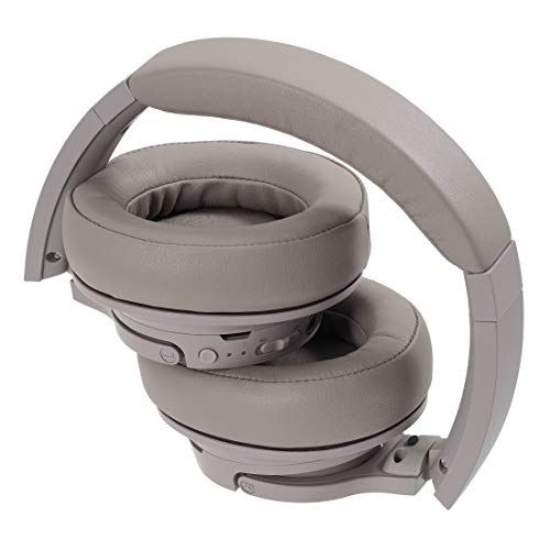 Audio-Technica ATH-SR50BT Kabelloser Over-Ear Kopfhörer, grau - 5