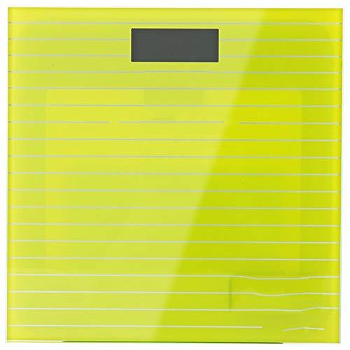 Personenwaage/Digitale Waage - Große Kapazität 180 kg / 400 lb / 28st - Hochpräzise,   aufsteckbare LCD-Anzeige mit Hintergrundbeleuchtung, hochwertige Hartglasplattform, schlankes und int -