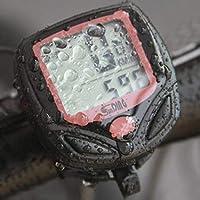 Eroihe Cuentakilómetros Bicicleta Impermeable Pantalla LCD Velocímetro de Bicicleta