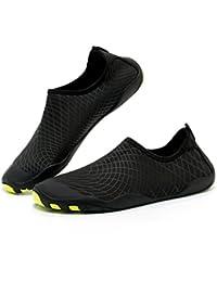a1d6d7b857ef4 Exing Scarpe Asciugatura Rapida Scarpe da Spiaggia Sportive Immersioni Calzature  da Nuoto Antiscivolo Scarpe da Tapis roulant Scarpe morbide…