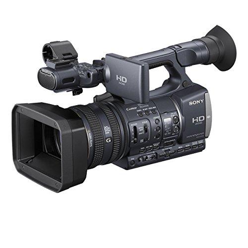 Sony HDR-AX2000E HD Camcorder (Memory Card, 20 fach opt. Zoom, 8,1 cm (3,2 Zoll) Display, CMOS Sensoren mit Exmor und BIONZ Technologie) anthrazit