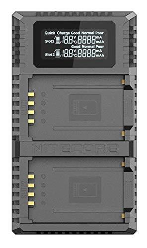 Ladegerät, Ladegerät für Fujifilm NP-T125 Akku, passend für Fuji GFX 50S, GFX 50R Kameras ()