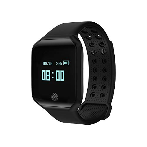 VRTUR Fitness-Smartwatch, Damen Herren Smartwatch Wasserdicht Sport Uhr Armbanduhr für Outdoor Radsport,Running,Fitness, Bluetooth Smartwatch