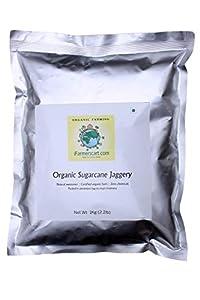 iFarmerscart Organic Sugarcane Jaggery Powder - in Aluminium Bag (5)