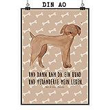 Mr. & Mrs. Panda Poster DIN A0 Hund Dogge - Hund, Hunde, Haustiere, Hunderasse, Tierliebhaber XXL Poster, Poster groß, Wandposter, Bild, Wanddeko, Wandbild