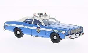 Dodge Monaco, NYPD - Nouveau York Police Departement, Police (USA) , 1978, voiture miniature, Miniature déjà montée, Neo 1:43