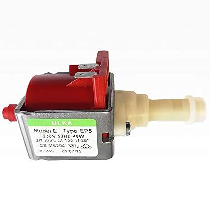 Wasserpumpe-ULKA-EP-5-fr-Kaffeevollautomaten-230V-50Hz-48W-DeLonghi