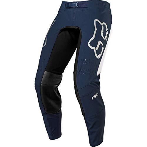 Fox Cross - Pantaloni Flexair Honda, colore: navy/rosso