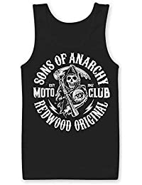 Officially Licensed Merchandise SOA Moto Club Tank Top Vest