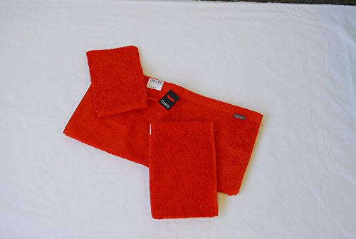 Cawö - Life Style Uni 7007 - Farbe: grenadine 213, Handtuch 50x100 cm