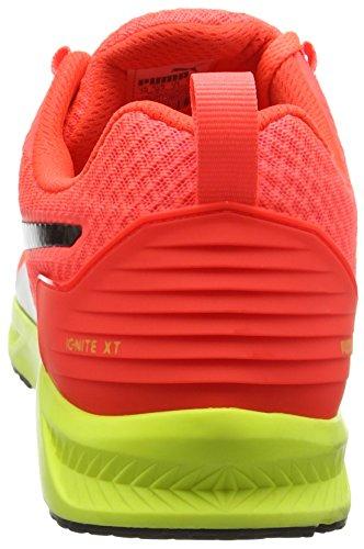 Puma Ignitextv2f6, Scarpe da Atletica Leggera Unisex-Adulto Rosso (RED/YELLOW 02)